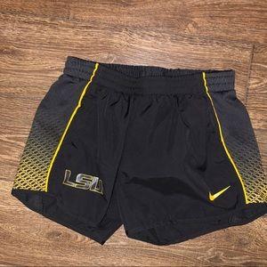 LSU Nike Dri-FIT shorts